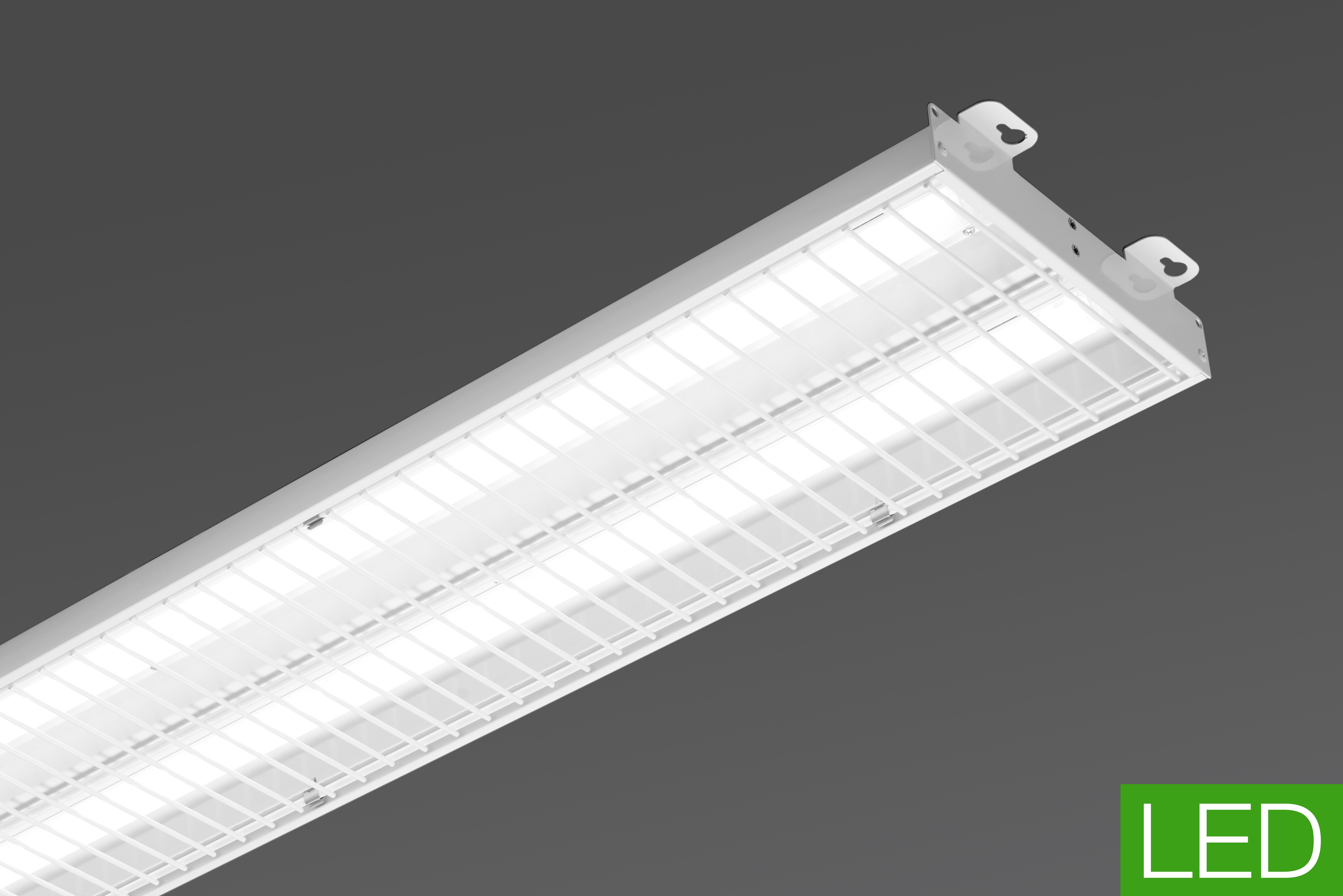Luminaire salles de sports : STS LED, force et robustesse