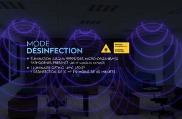 OPTIMO UV-C LEDIZ® : présentation du concept en moins de 2 minutes (vidéo)