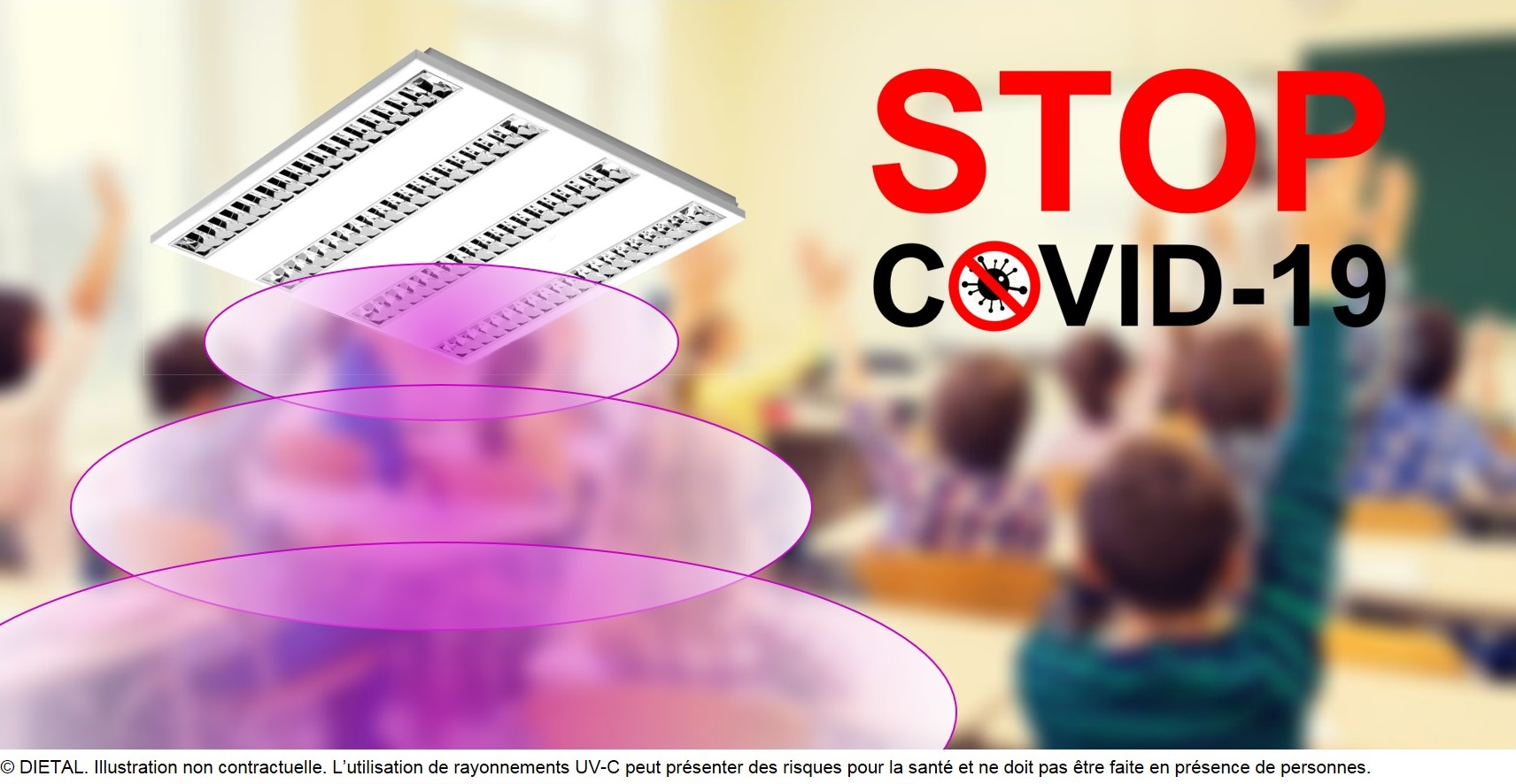 Press Kit – Lighting manufacturer from Auvergne (France) declares war on Coronavirus